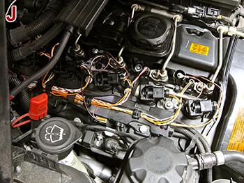 BMW 335i Coil Over Plug Setup