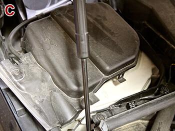 Removing BMW 335i ECU Cover