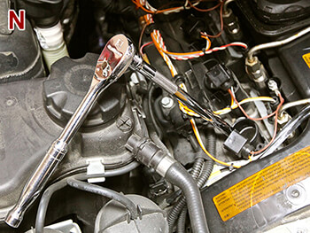 Removing Spark Plugs BMW 335i