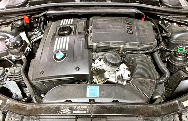 BMW 335i Engine Bay