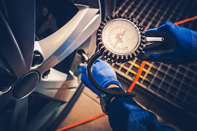 Checking Proper Tire Pressure